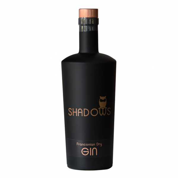 Shadows Franconian Dry Gin 0,5l 43% Vol.